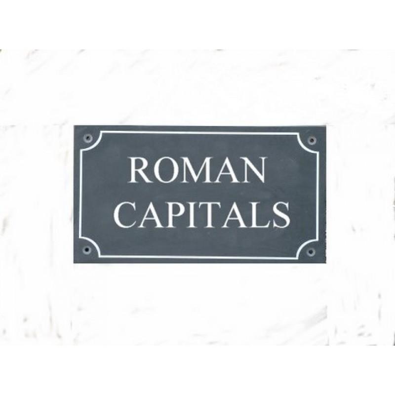 ROMAN FONT EXAMPLES