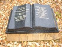 Large Book Memorial