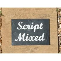 SCRIPT(BOLD) FONT EXAMPLES