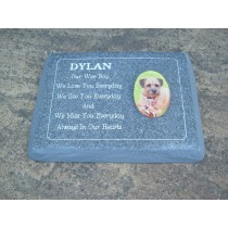 Pet Rectangular Plaque