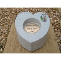 "Pet Sweet Heart Vase +5""Dia Brass"