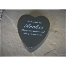 Heart Plaque (Small)