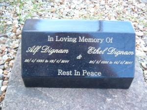 Medium Wedge Cremation Urn Holds Ashes Indoor or Out