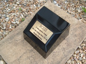 Formal Cremation Urn Holds Ashes Indoor or Out