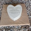 Heart Cremation Urn Holds Ashes Indoor or Out